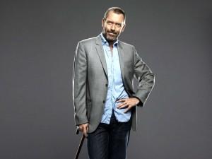 Доктор Хаус в гриме и одежде землянской